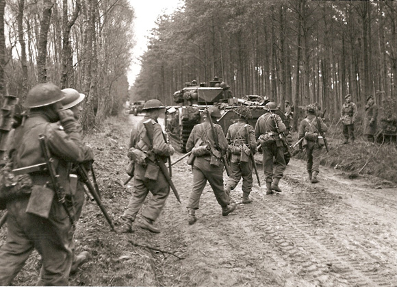 2nd Seaforth, Reichswald Forest, 11th Feb 1945