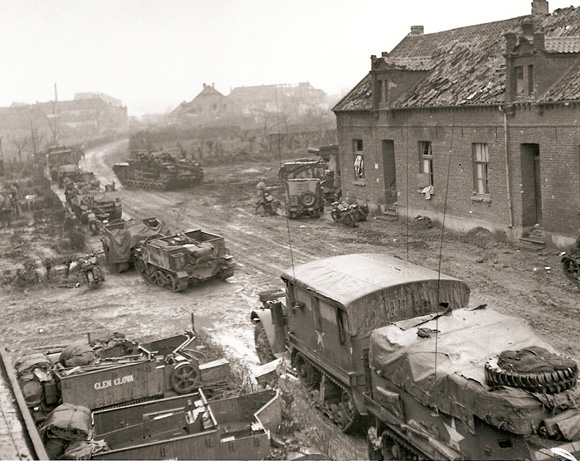 Manoeuvers in Goch, 21 Feb 1945
