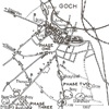 Map, Battle of Goch