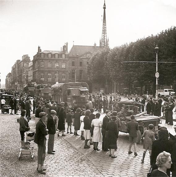 51st Highland Division Enter Rouen