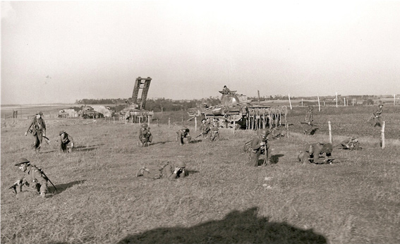 Clearing Minefields Nr. Le Havre